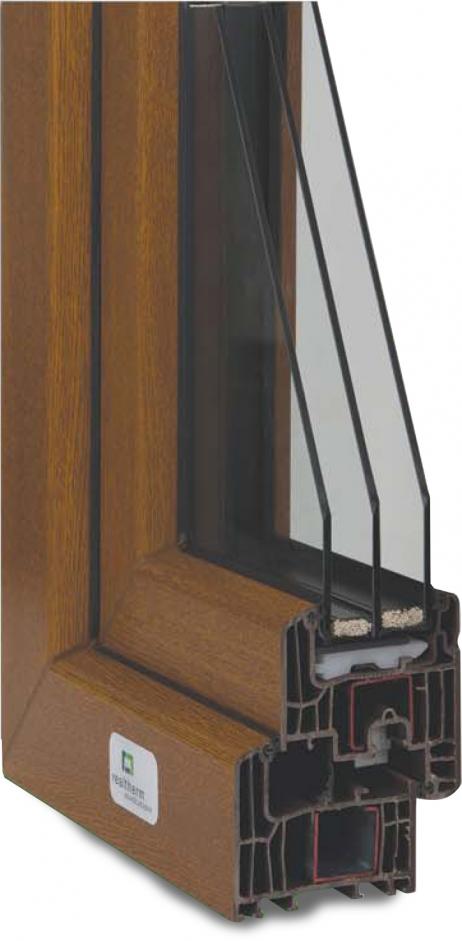 Plastové okno Inoutic Eforte