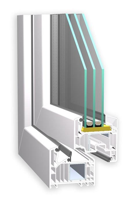Plastové okno VEKA 82
